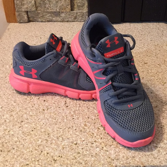 release date: 17010 a6628 UNDER ARMOUR Thrill 2 Sneakers Women's Size 6